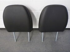 PAIR Front Seat Leather Headrests Head Rests Mitsubishi Outlander Sport RVR GT