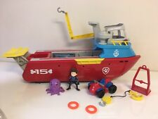 Paw Patrol Sea Patroller Transforming Boat with Lights & Sounds COMPLETE EUC