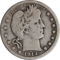 1914-S Barber Quarter Great Deals From The Executive Coin Company