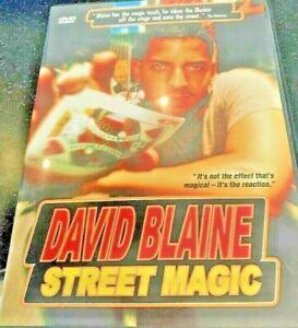 David Blaine street magic man new DVD