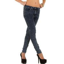 Niedrige Hosengröße 36 Indigo/Dark-Wash Damen-Jeans
