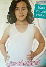 Set biancheria intima termica per bambini Topfly/® 100/% cotone colore puro