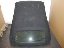 Dach Cabrio Stoffdach Schwarz AUDI A4 CABRIOLET (8H7, B6, 8HE, B7) 2.0 TDI