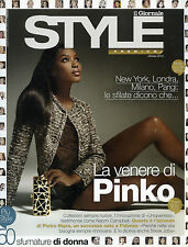 STYLE by IL GIORNALE - OTT.2012 * LA VENERE DI PINKO - 50 SFUMATURE DI DONNA