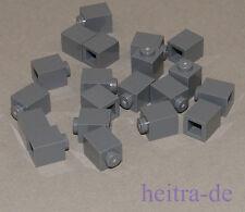 LEGO - 20 x Basic Stein 1x1 dunkelgrau / Dark Bluish Gray Brick / 3005 NEUWARE