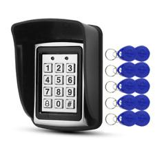 RFID Door Lock Metal Access Control Keypad Waterproof Electronic Lock System