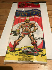 Motu, Masters of the Universe HE-MAN 1983 Tablecover,  sealed, New, Merchandise