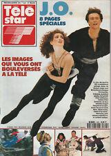 Télé Star N°805 - 02 Mars 1992 - J.O. Patinage - Marina Klimova Et Serguel Ponom