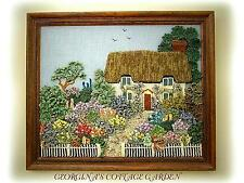 ENGLISH COTTAGE GARDEN (picture) by GEORGINA MANVELL (knitting pattern)