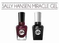 Sally Hansen ~*** Miracle Gel ***~No UV Gel Polish,Assorted Colors!New Full Size