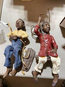 2 DADDY LONG LEGS Black Dolls AFRICAN AMERICAN