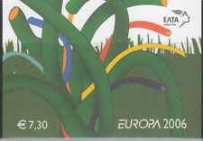 Europa Cept 2006 Greece booklet ** mnh (A1285) @ face value