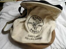 Klein Tools Canvus Bucket with Large Hook 150 Lbs.