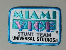 Vintage 1990 Miami Vice Stunt Team Universal Studios TV Show Patch