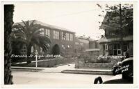 Long Beach California 1933 Earthquake Damage Franklin School & Rockhaven RPPC