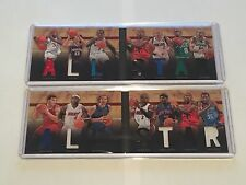 Panini Preferred Booklet 2011 All-Star Lebron Iverson Wade Durant Patch Lot (2)