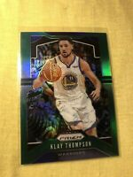 2019-20 Panini Prizm Refractor SP Klay Thompson Green PRIZM #209 Warriors