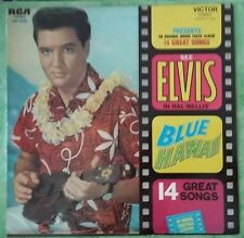 Elvis Presley - BLUE HAWAII  rare french pressing