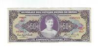 50 Cruzeiros Brasilien 1960 C092 / P.161c - Brazil Banknote
