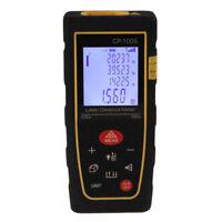 100M/328FT Digital LCD Laser Distance Meter Range Finder Measure Diastimeter