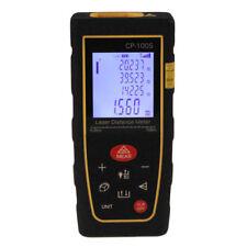 100m328ft Digital Lcd Laser Distance Meter Range Finder Measure Diastimeter