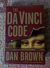 New listing The Da Vinci Code by Dan Brown 2003 True 1st Edition 1st Printing Hardcover w/Dj