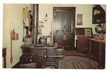 Kitchen ABRAHAM LINCOLN'S HOME Cast Iron Stove Springfield ILLINOIS Postcard IL