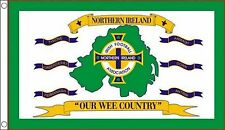 Northern Ireland Football Our Wee Country 5'x3' Flag