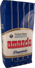 AMANDA Yerba Mate Tee Despalada (wenig Stängel) Mate Tee aus Argentinien - 500g