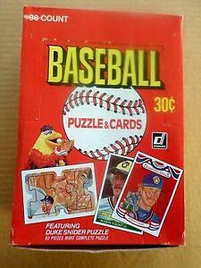 1984 DONRUSS UNOPENED 36 PACK WAS BOX BASEBALL CARDS