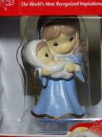 Precious Moments Ornament Mary & Baby Jesus Christmas Holy Family Nativity 2017