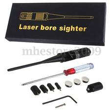 Red Dot Laser BoreSighter Bore Sight Kit 0.22 - 0.50 Caliber Rifle Collimator