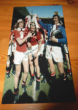 Manchester United 1977 F.A. Cup Winners - Jimmy Greenhoff SIGNED Photo
