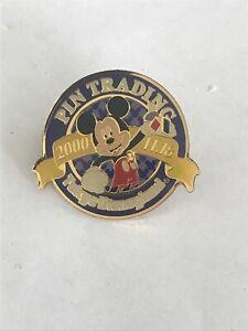 Disney Pins Tokyo Disneyland Pin Trading Mickey Mouse Blue