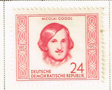 Germany DDR Famous Russian Writer Gogol stamp 1953 MLH