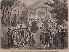 1864  --  L IMPERATRICE AUX BAINS DE SCHWALBACH   3H231
