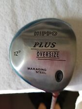 HIPPO PLUS OVERSIZE 12° MARAGING STEEL RIGHT HANDED OK CONDITION