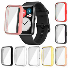 For HUAWEI Watch FIT Smart Watch Anti-scratch TPU Protective Case Cover