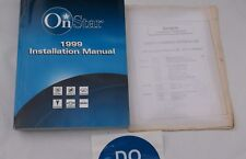 1999 CHEVROLET GMC BUICK CADILLAC PONTIAC ON-STAR INSTALLATION SERVICE MANUAL