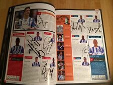 Multi-Signé (19) Brighton & Hove Albion (Away) Programme, 15th août 2015