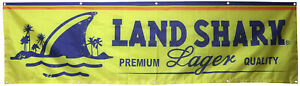 Land Shark Lager Beer Flag 2x8ft Banner