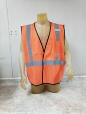 Ml Kishigo 1194-4X-5X - AGENCY LOGO 100 Pk Size 4XL/5XL Orange Temp Labor Vest