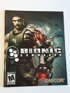 Bionic Commando PS3 INSTRUCTION MANUAL ONLY ! excellent condition