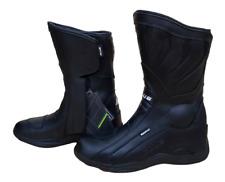Stivali stivaletti scarpe turing per moto da turismo in di pelle con protezioni