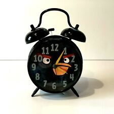 Angry Birds 2009-2012 Rovio Entertainment Blac Alarm Clock Excellent! Look! Bird