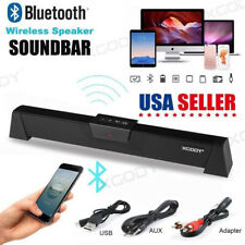 TV Soundbar Bluetooth Wireless Home Speakers AUX Sound Bar Home Theater