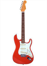 Fender Japan Exclusive Classic 60s Stratocaster Fiesta Red Gitarre