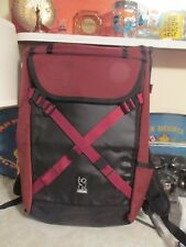 Chrome - Unisex-Adult Bravo 2.0 Commuter Series Backpack - Brick / Black NWT