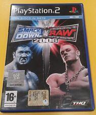 Wwe Smack Down vs Raw 2006 GIOCO PS2 VERSIONE ITALIANA