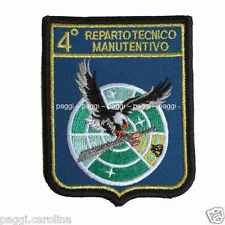 Patch A302 4° Reparto Tecnico Manutentivo Toppa patch senza velcro